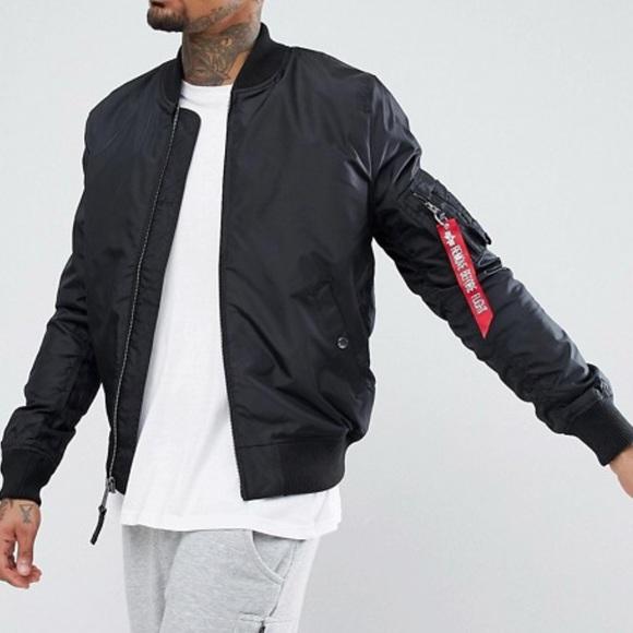 color brilliancy wide varieties lovely luster Men's Alpha Industries slim fit bomber jacket